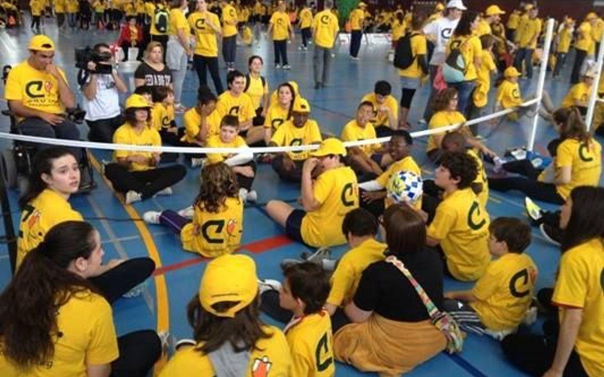 El CVB Barça, presente en los VII Juegos Catalanes de Deporte Adaptado celebrados en Cervera