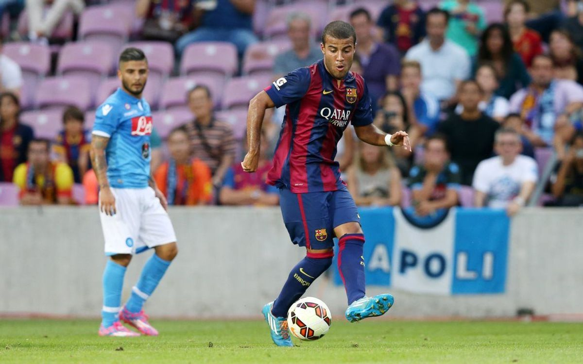 SSC Napoli v FC Barcelona: First defeat of preseason (1-0)