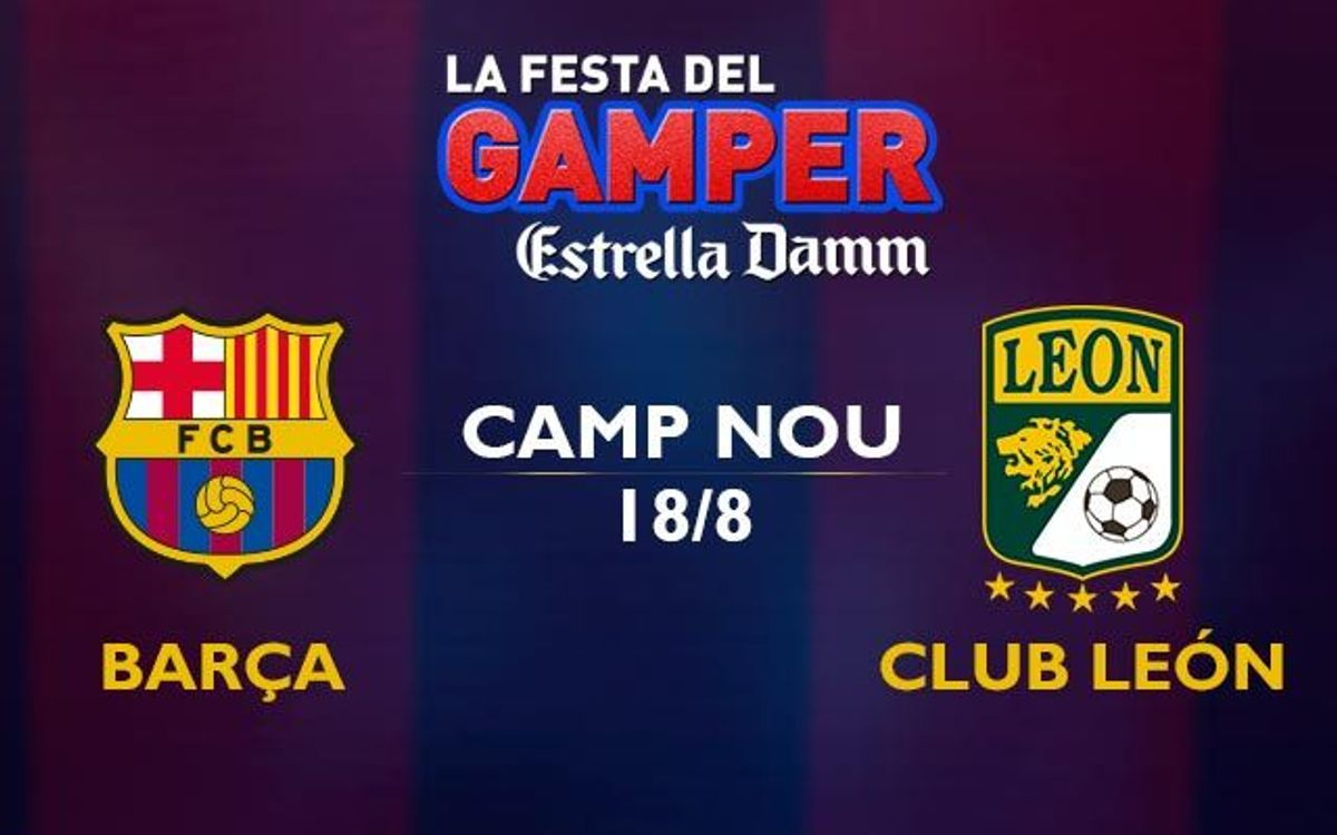 Tickets for the Joan Gamper Trophy, on sale from this Friday