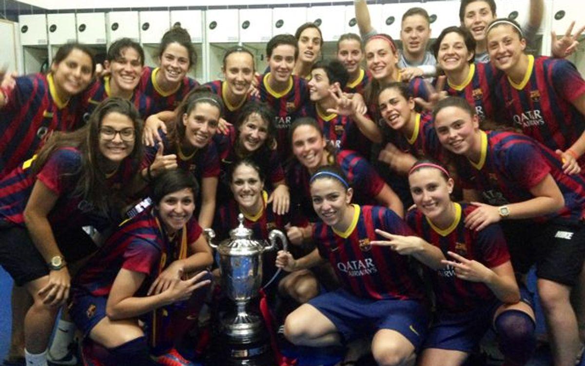 Cuarta Copa de la Reina para el Femenino A