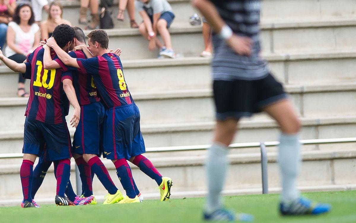 Els equips del futbol formatiu blaugrana comencen amb bon peu la competició oficial