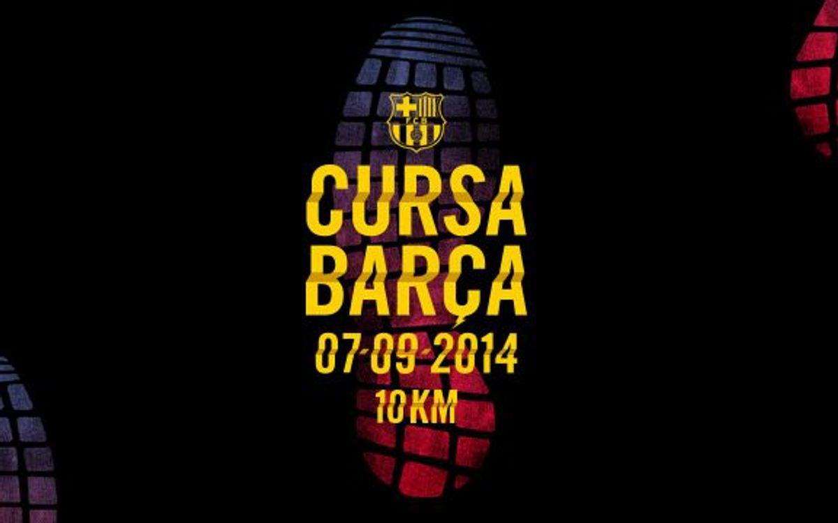 Más de 1.000 inscritos en la Cursa Barça