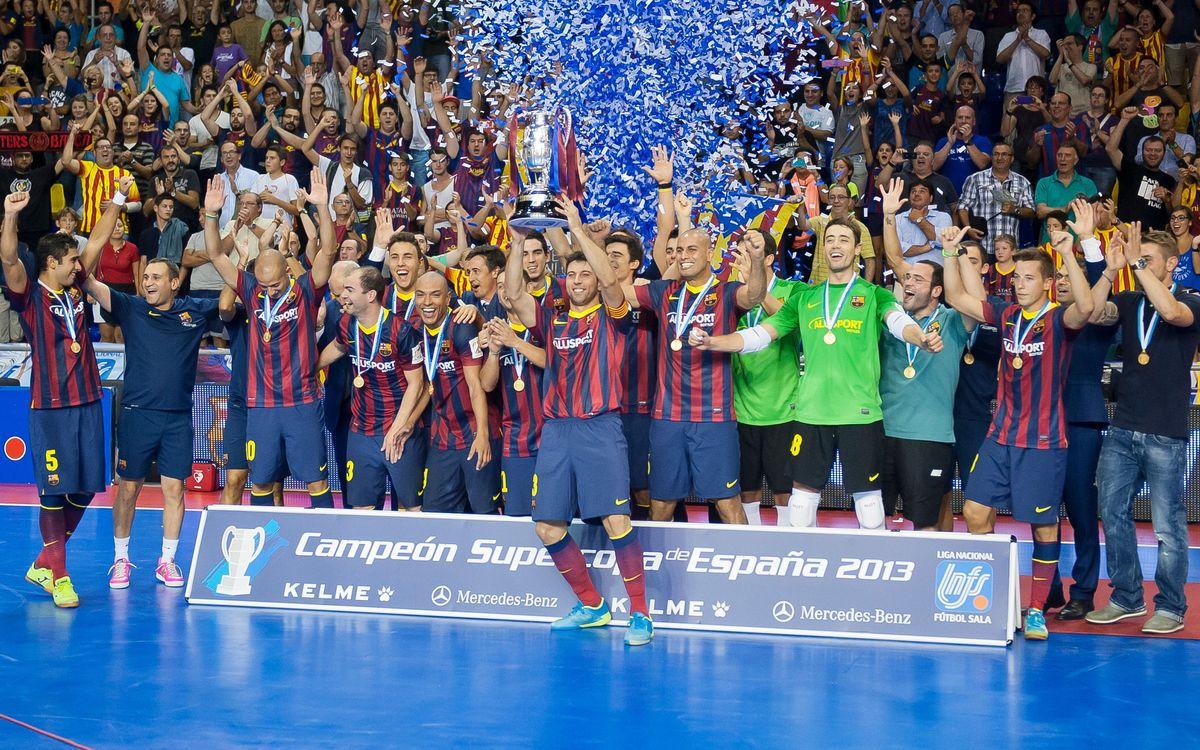 El Barça Alusport ha ganado las últimas siete finales a ElPozo Murcia