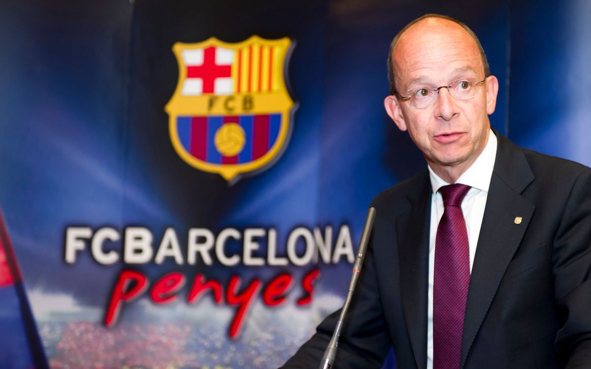 Letter of Jordi Cardoner to penya presidents