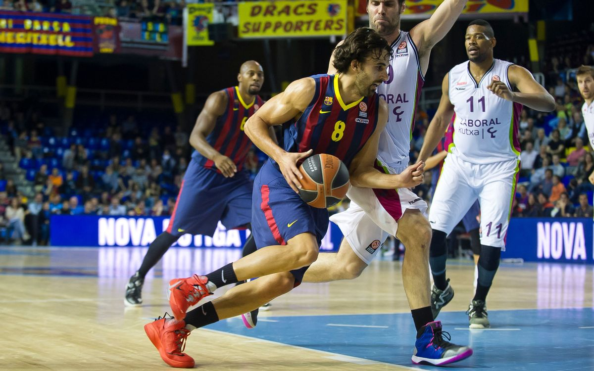 FC Barcelona – Laboral Kutxa: Third quarter collapse(86-97)
