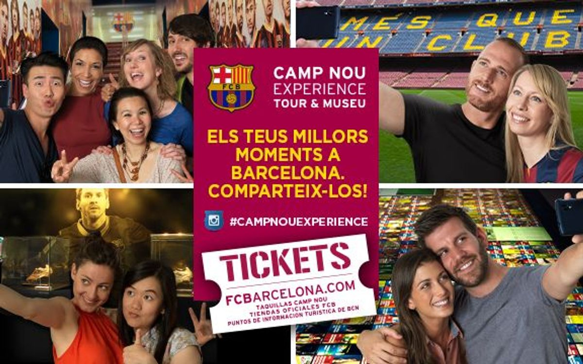 El Camp Nou Experience es converteix en un epicentre turístic de Barcelona