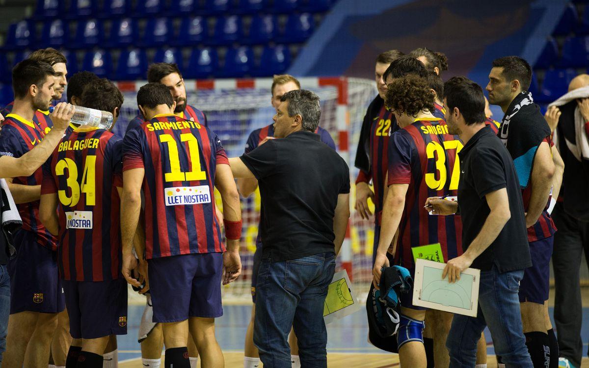 El BM Aragó, primer rival del Barça d'handbol a la Lliga Asobal