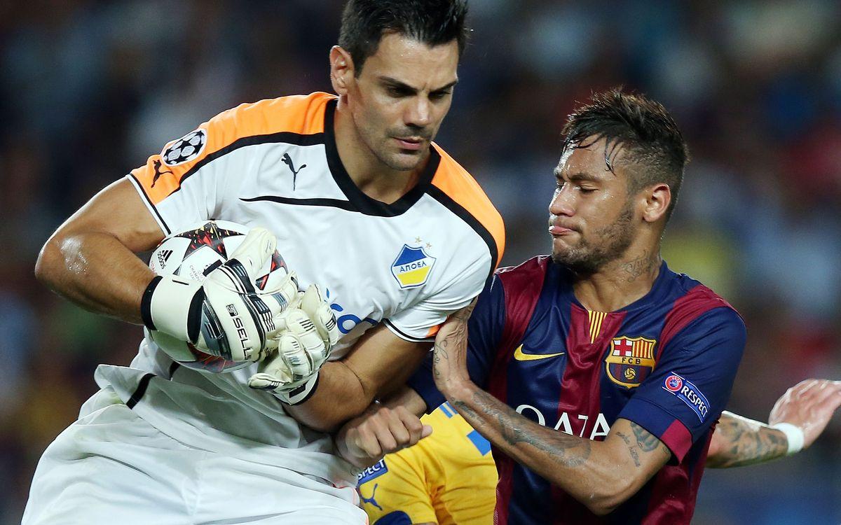 Apoel FC v FC Barcelona: Third time lucky