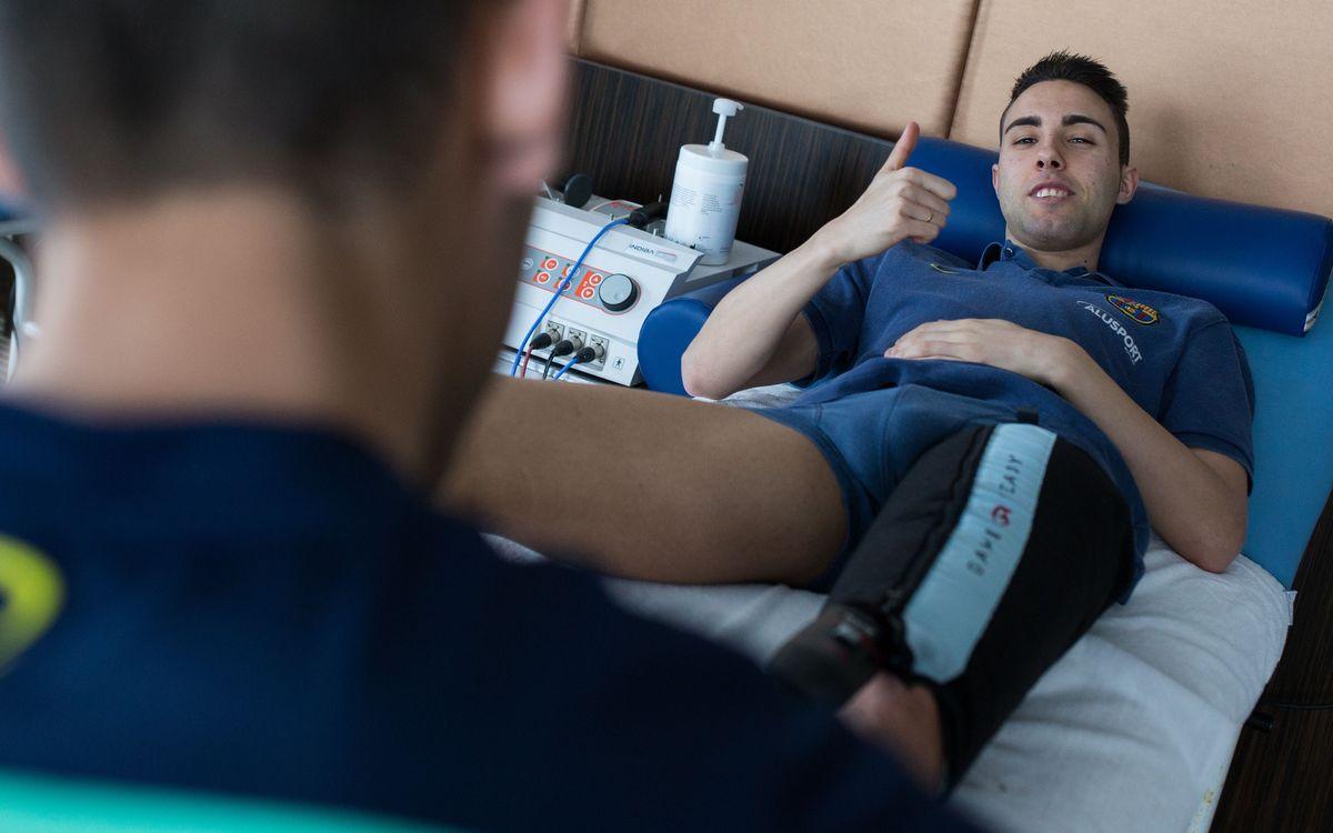 Matí de recuperació per al Barça Alusport