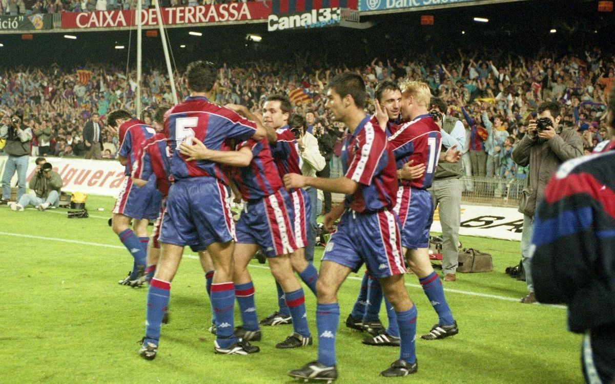 20 years since the 94 La Liga title