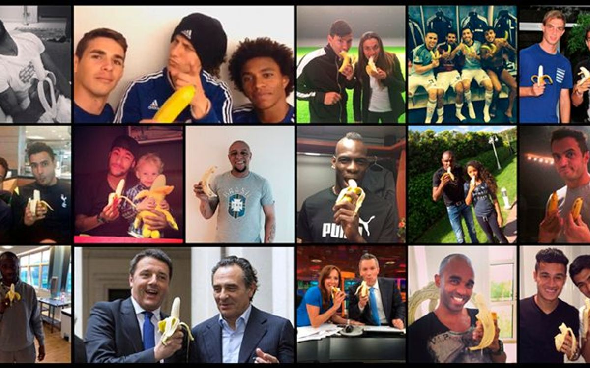 Alves unites the world of sport against racism