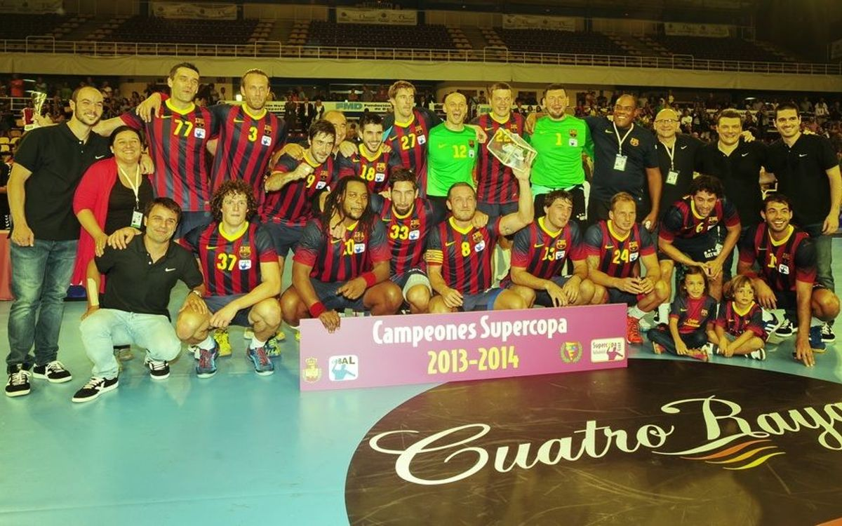 Champions of the Asobal Supercup! (40-31)