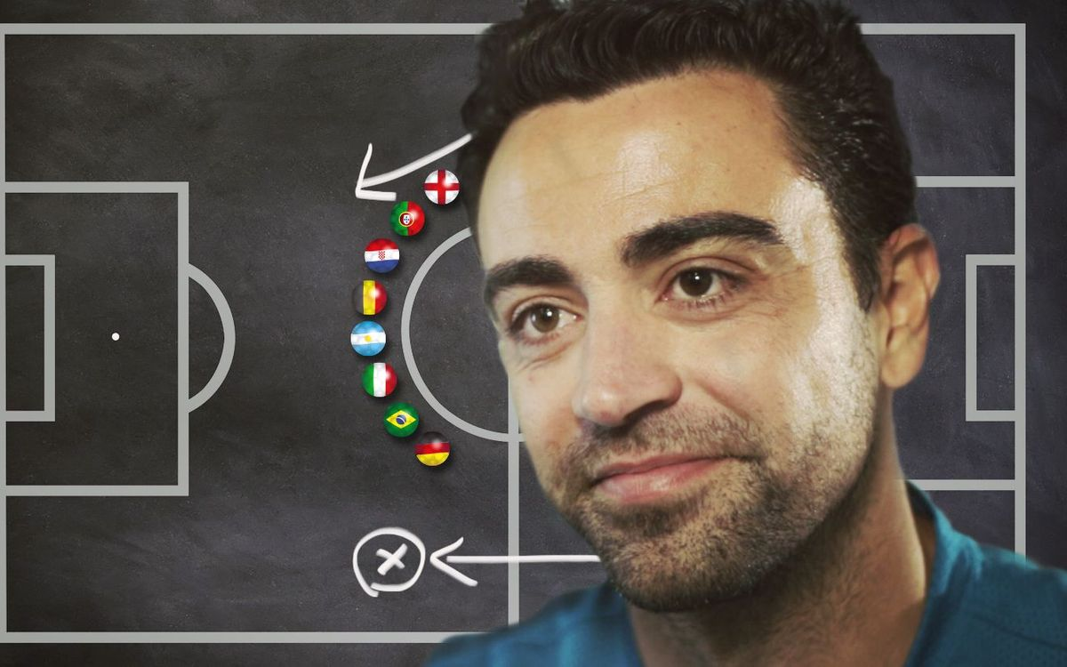 Xavi analyses the national team favourites