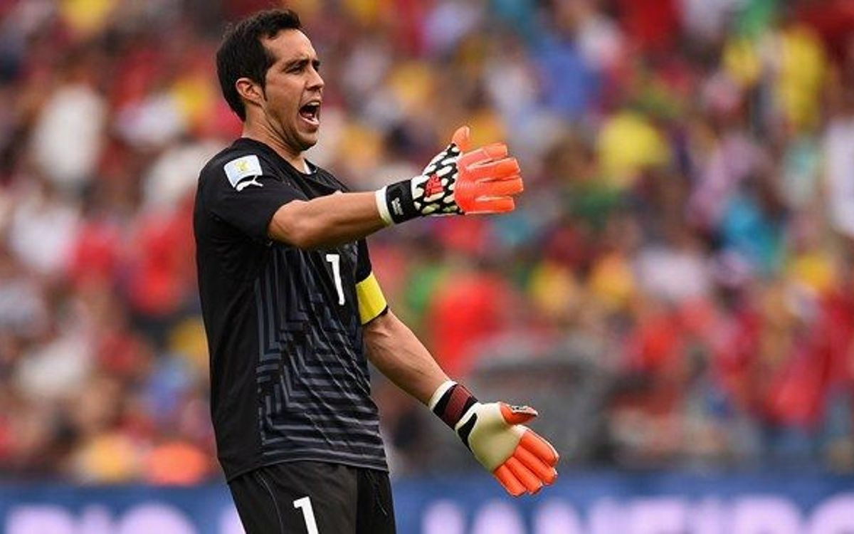 Claudio Bravo clean sheet in Chile draw