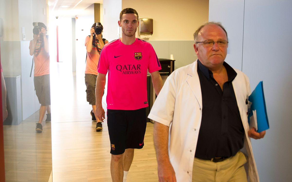 INSIDE VIEW - Vermaelen's first day