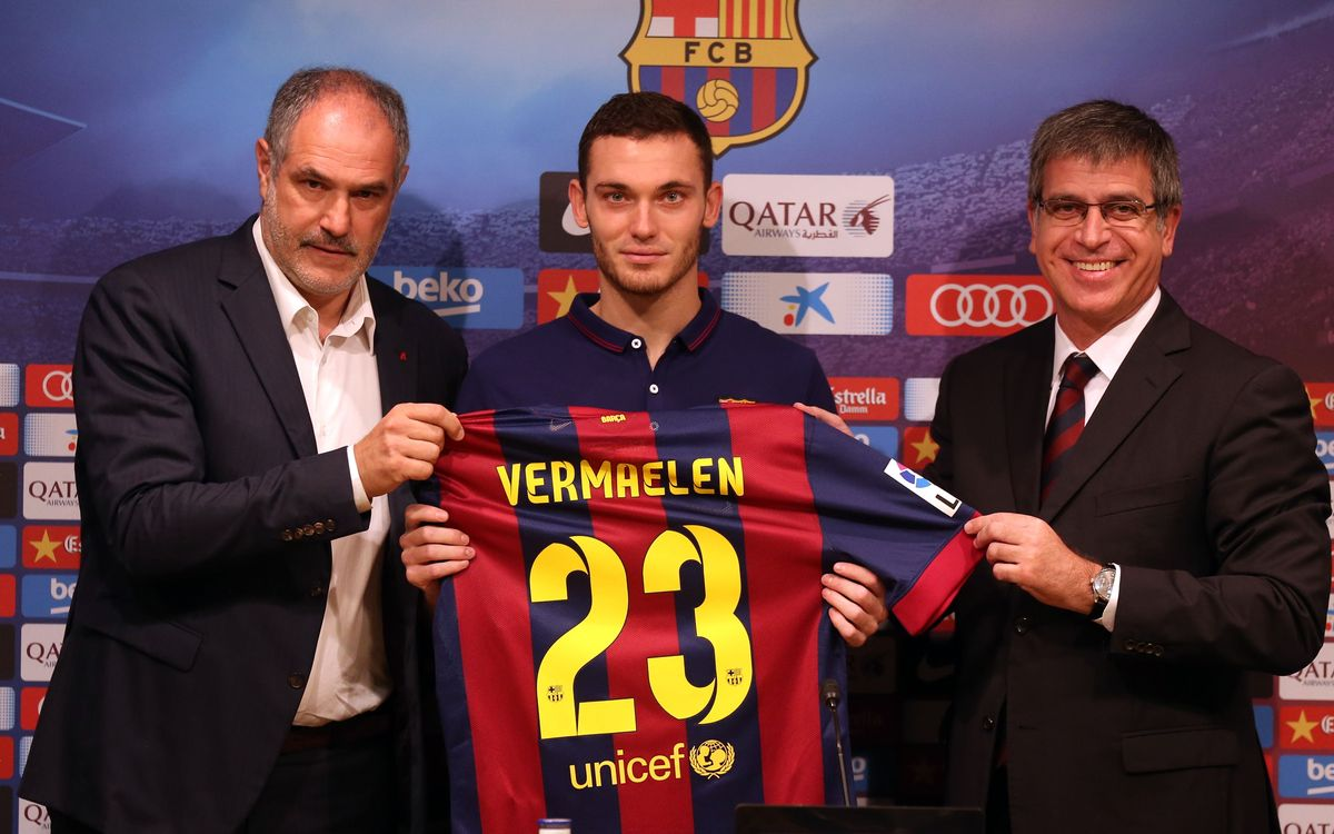 "Vermaelen: ""It wasn't a tough decision to come to Barça"""