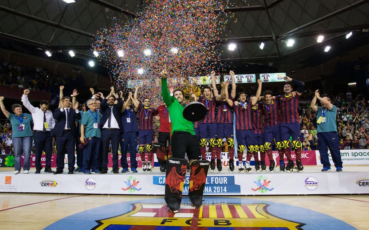 La vintena Lliga Europea per al Barça d'hoquei