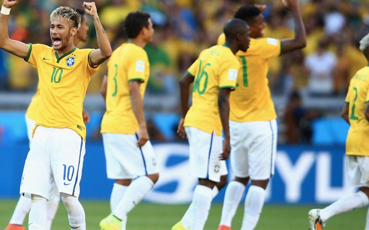 ブラジル、PK戦でベスト8進出 (1-1 [3-2])
