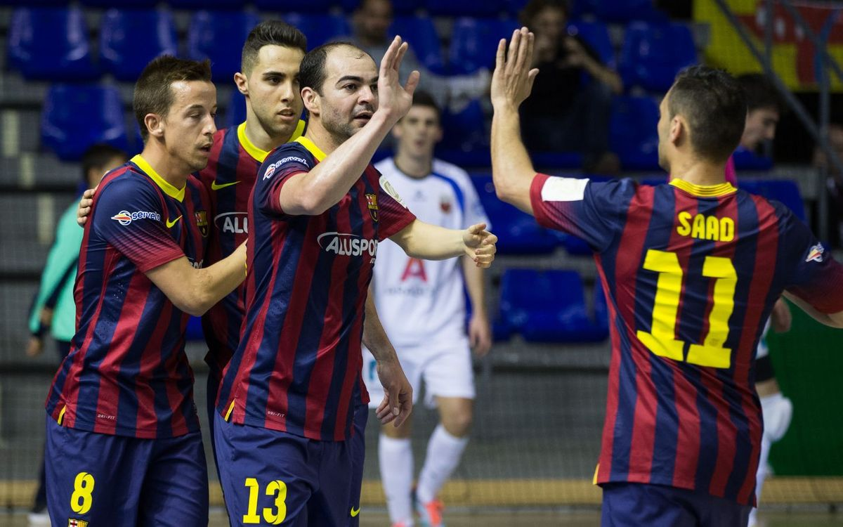 Barça Alusport – Umacon Zaragoza: To the final of the Copa del Rey! (6-2)