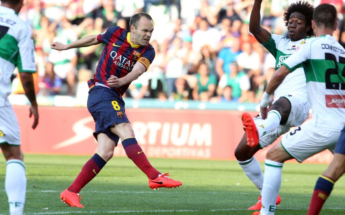 Elx- FC Barcelona: Empat, però vius (0-0)