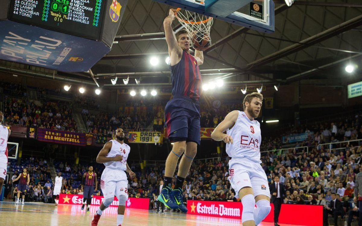 FC Barcelona - EA7 Emporio Armani: 100% record intact (84-80)