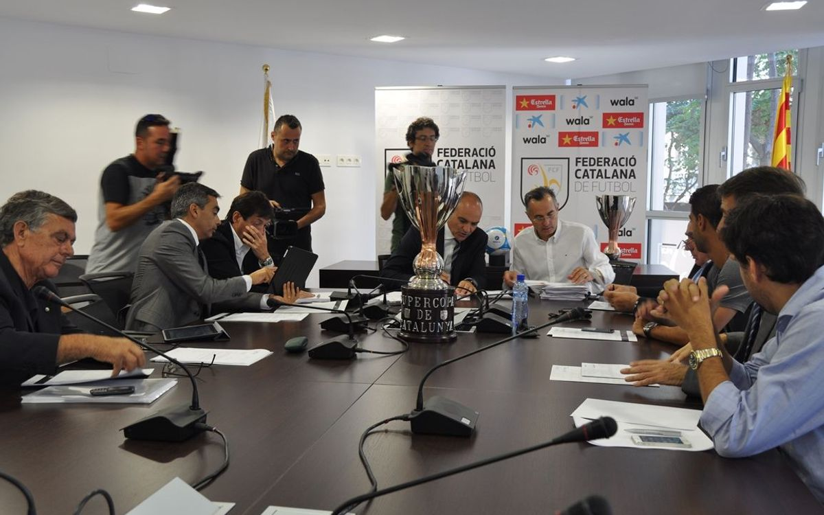 La Supercopa de Catalunya, el 29 d'octubre a Montilivi
