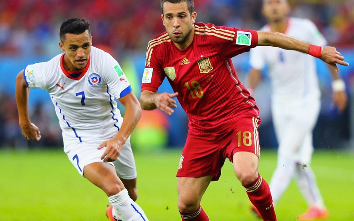 L'Espagne éliminée, Alexis qualifié (0-2)
