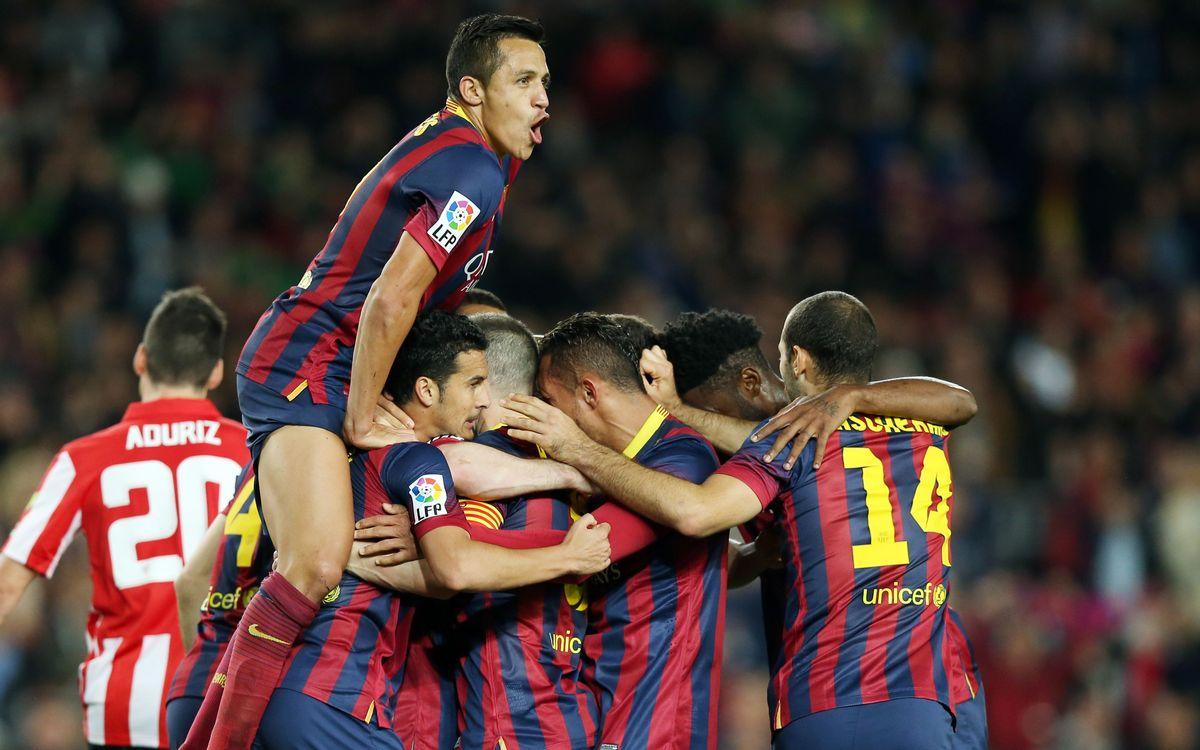 FC Barcelona – Athletic Club: ¡Siguen creyendo! (2-1)