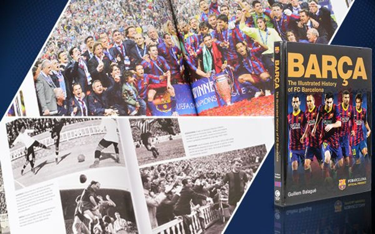 Release of first official Barça book in English
