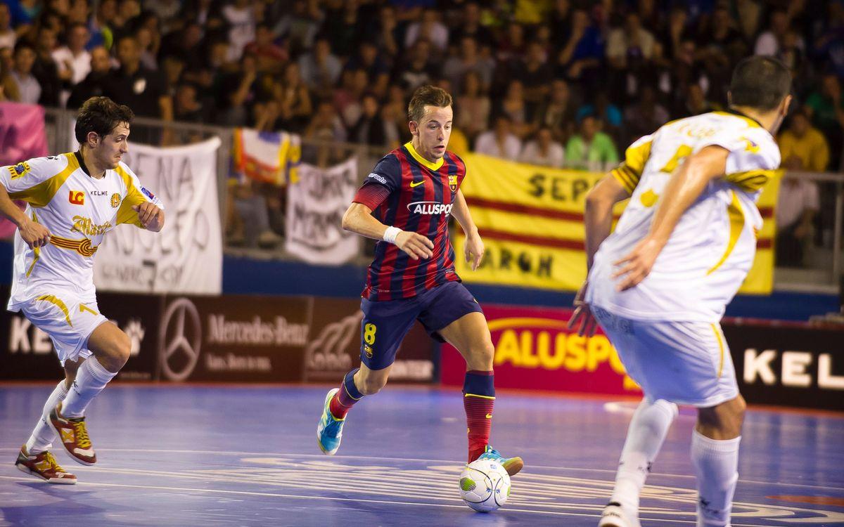 Ferrao i Lin, baixes per a les semis de la Copa Catalunya