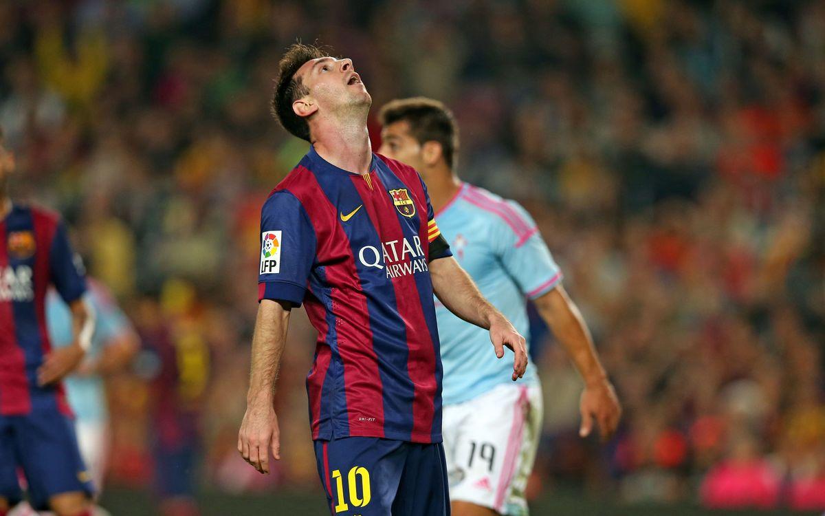 FC Barcelona v Celta Vigo: Barça run into wall (0-1)