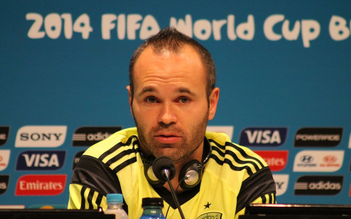 "Iniesta: ""We're prepared to win our remaining two games"""
