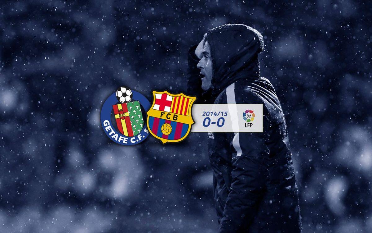 Getafe: 0 - FC Barcelona: 0