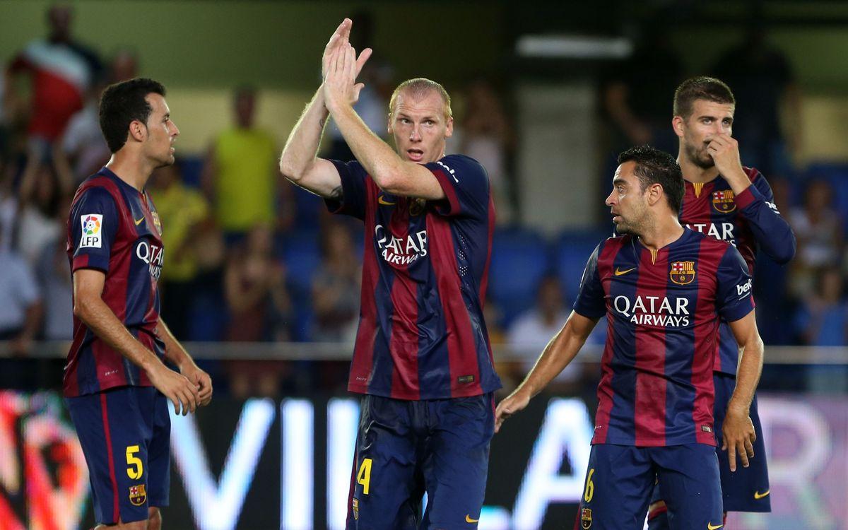 FCバルセロナの代表週