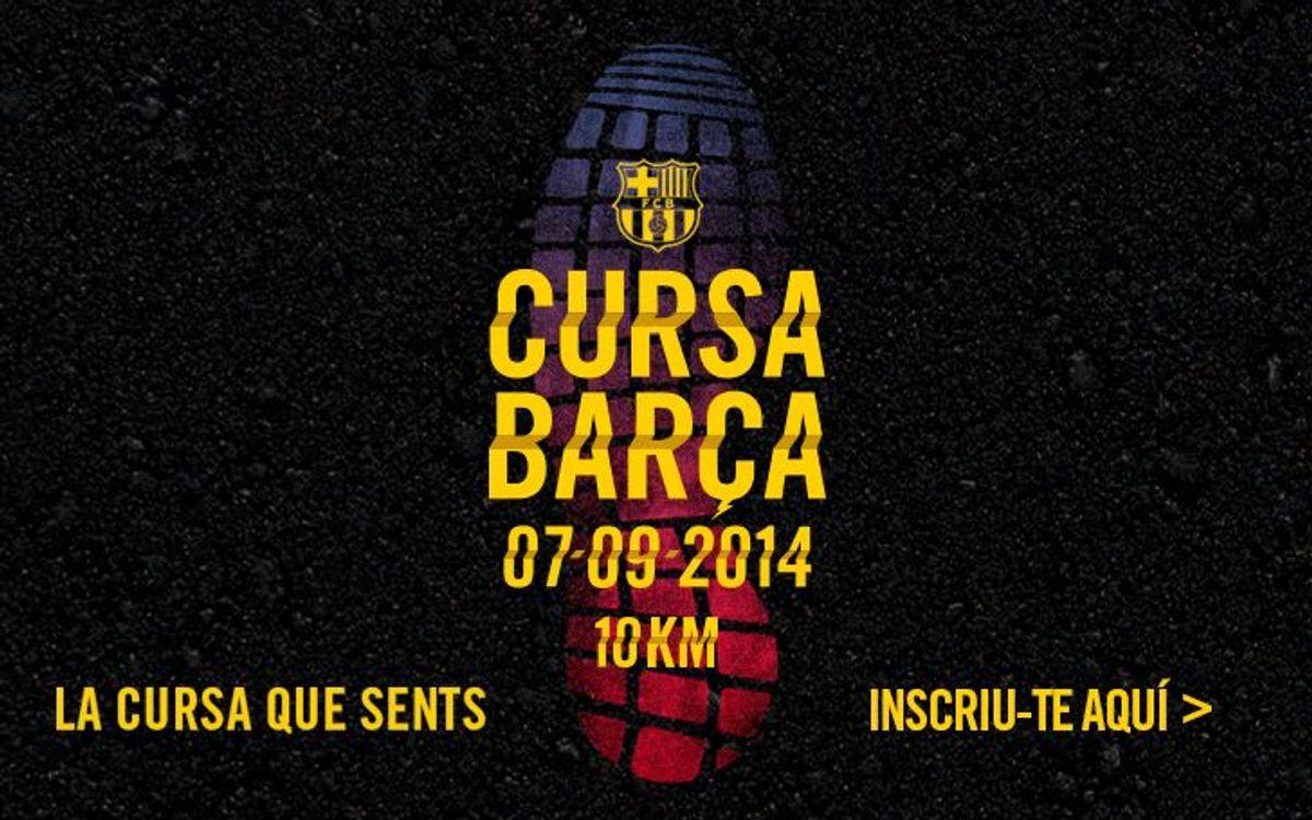 Últims dies per inscriure's en la Cursa Barça