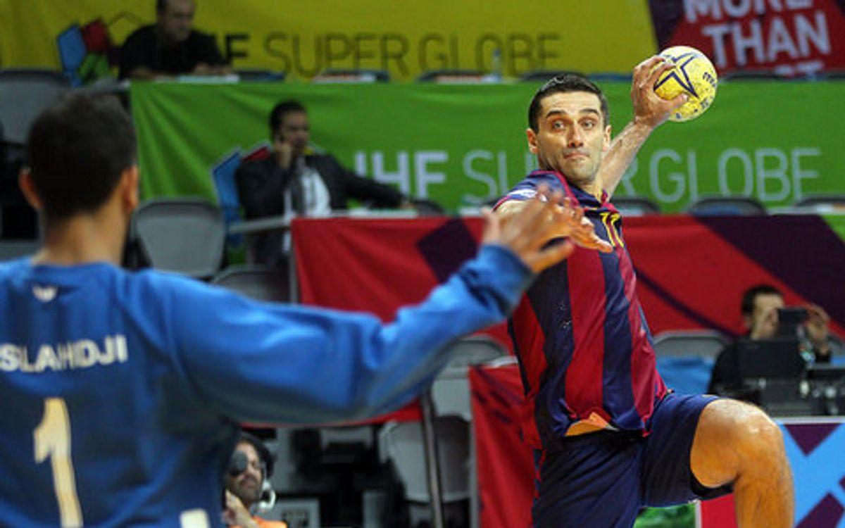 La Super Globe retorna a Barcelona amb el Barça d'handbol