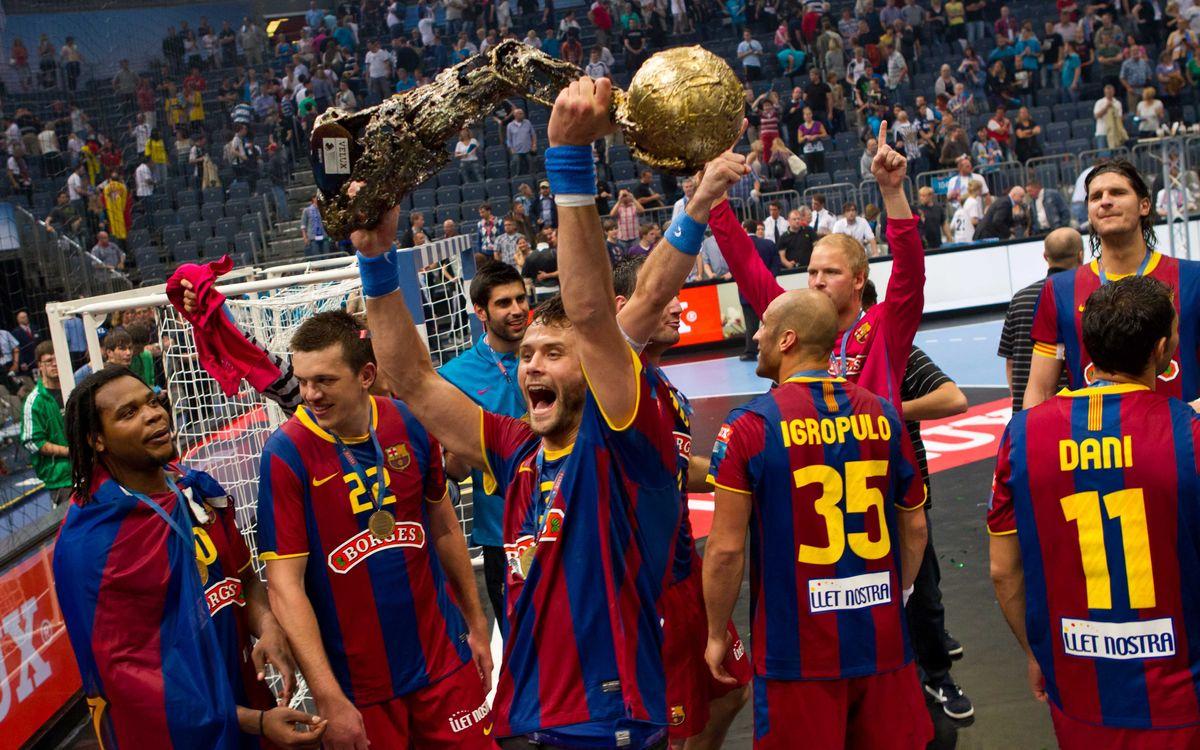 El FC Barcelona i les Finals a Quatre d'handbol