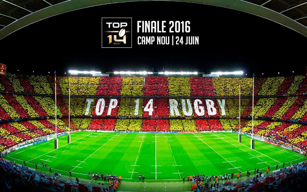 Camp Nou to host French rugby final in June 2016