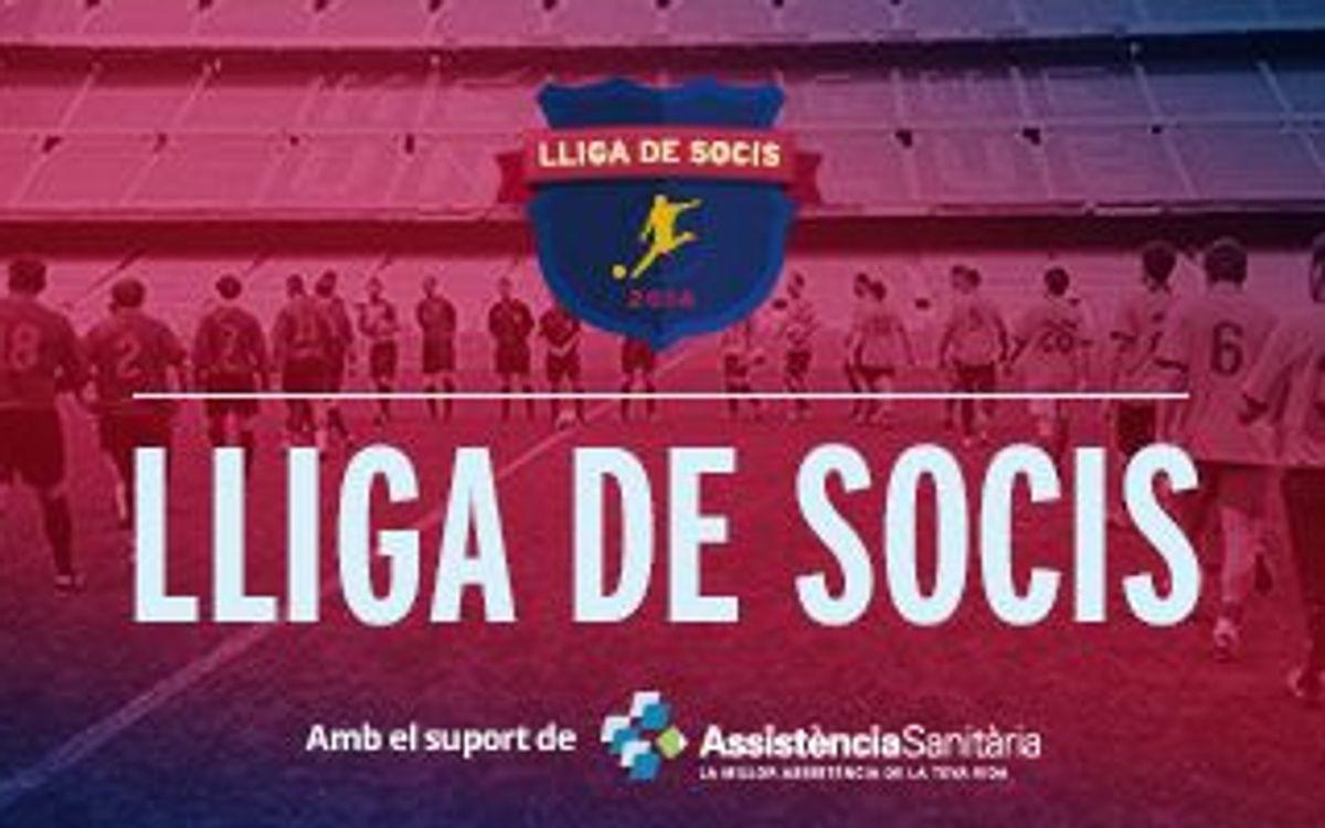 Tret de sortida a la Lliga de Socis 2014
