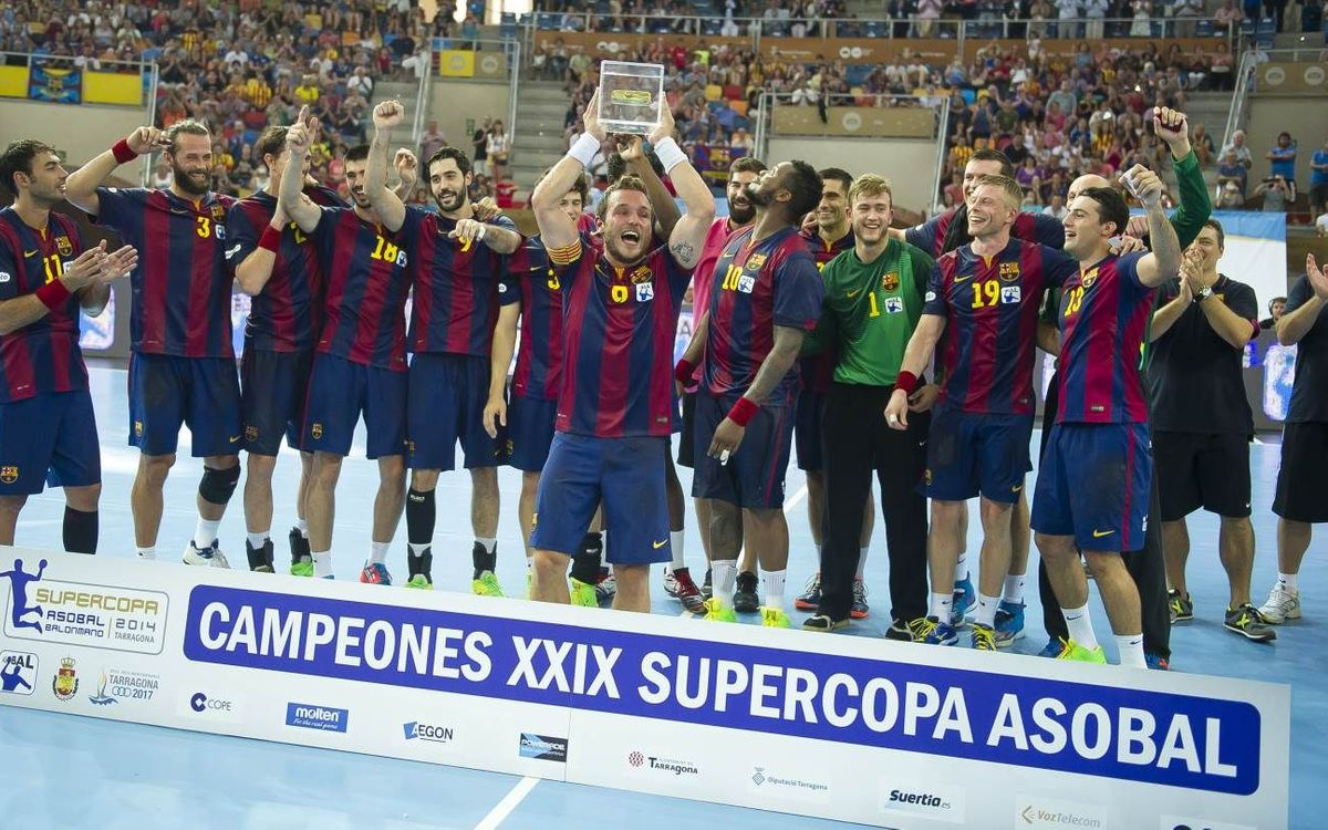 FC Barcelona win seventeenth Asobal Super Cup