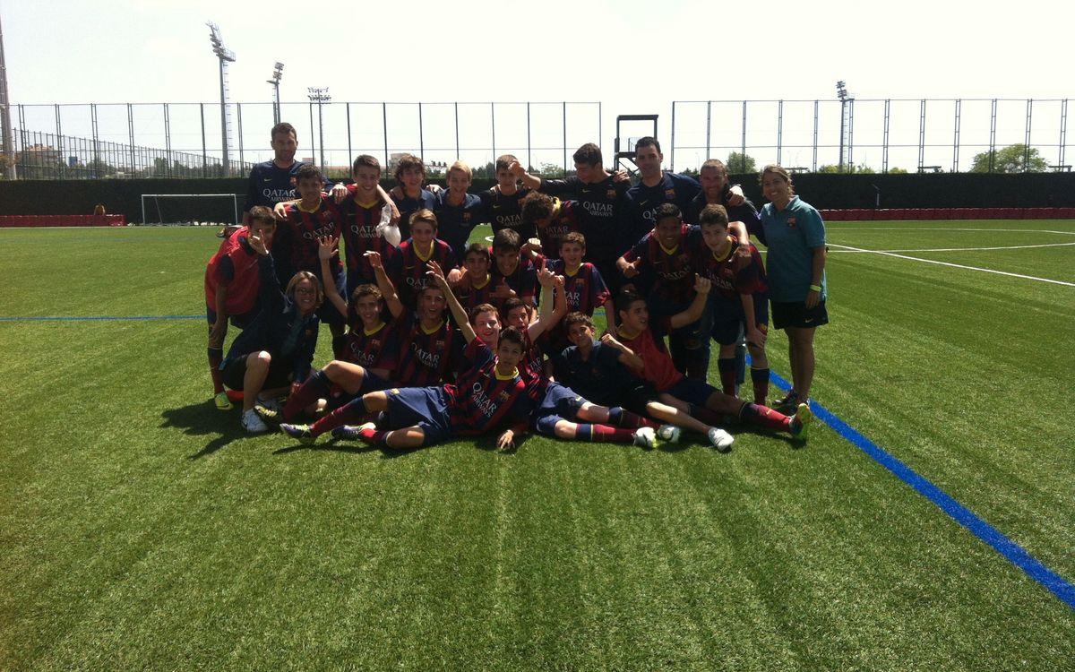 L'Infantil A i el Cadet B es proclamen campions de Lliga