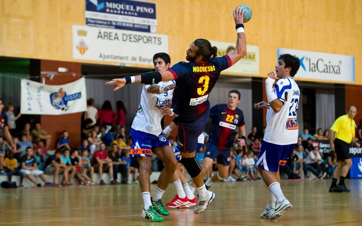 El BM La Roca, rival del Barça d'handbol a la semifinal de la Supercopa de Catalunya
