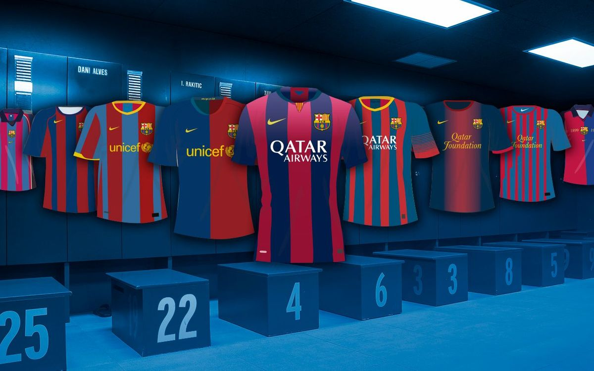 Do you remember every home kit Barça has had?