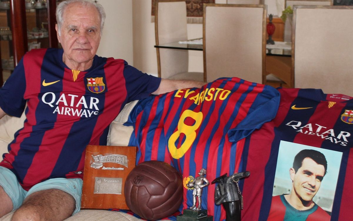 Exclusive interview with FC Barcelona legend Evaristo