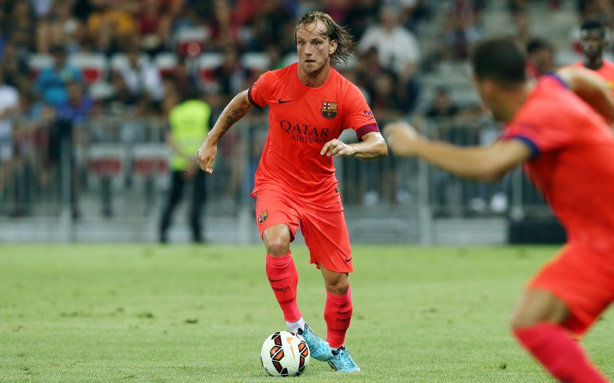 SSCナポリ対FCバルセロナ:チャンピオンズ級の親善試合
