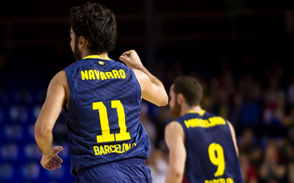 """Navarro: """"Serà un partit diferent, però hi anirem a guanyar"""""""