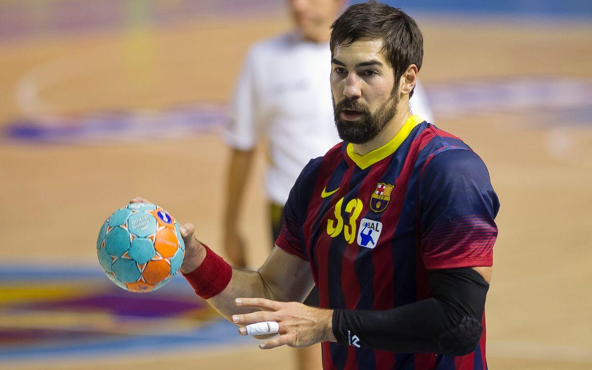 Semana de doble partido para el Barça de balonmano