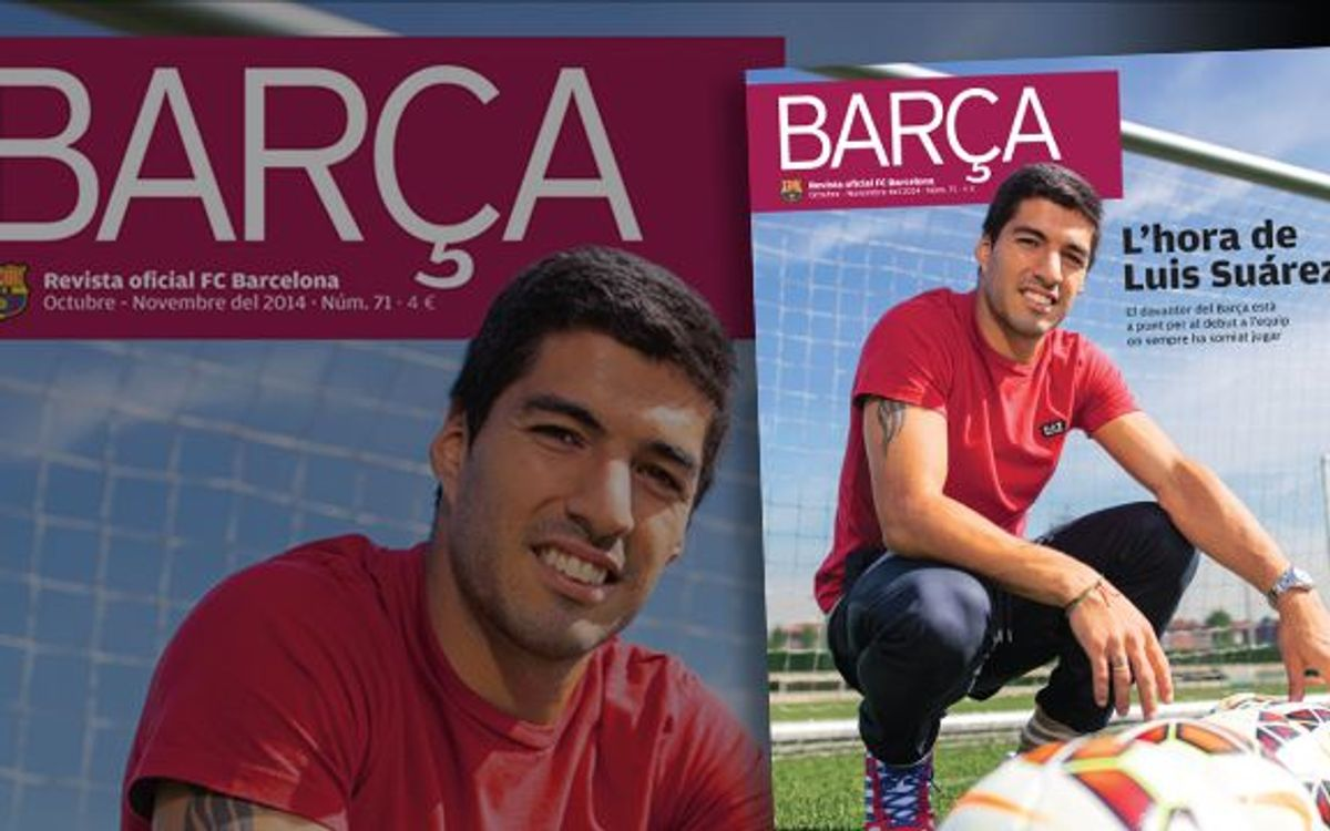 Luis Suárez - lifelong FC Barcelona fan