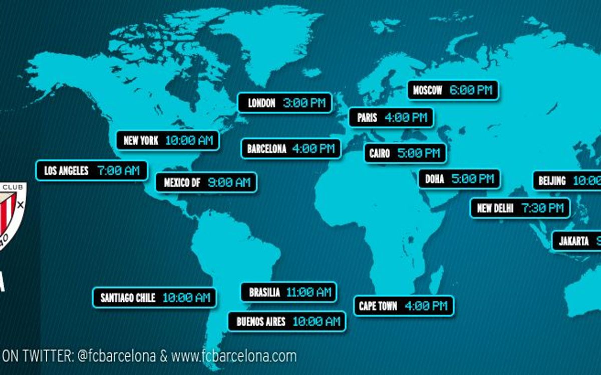When and where to watch the Spanish League match between FC Barcelona and Athletic Club Bilbao