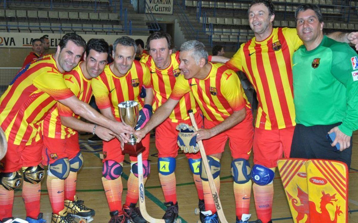El Barça, campió de la Lliga Catalana de Veterans